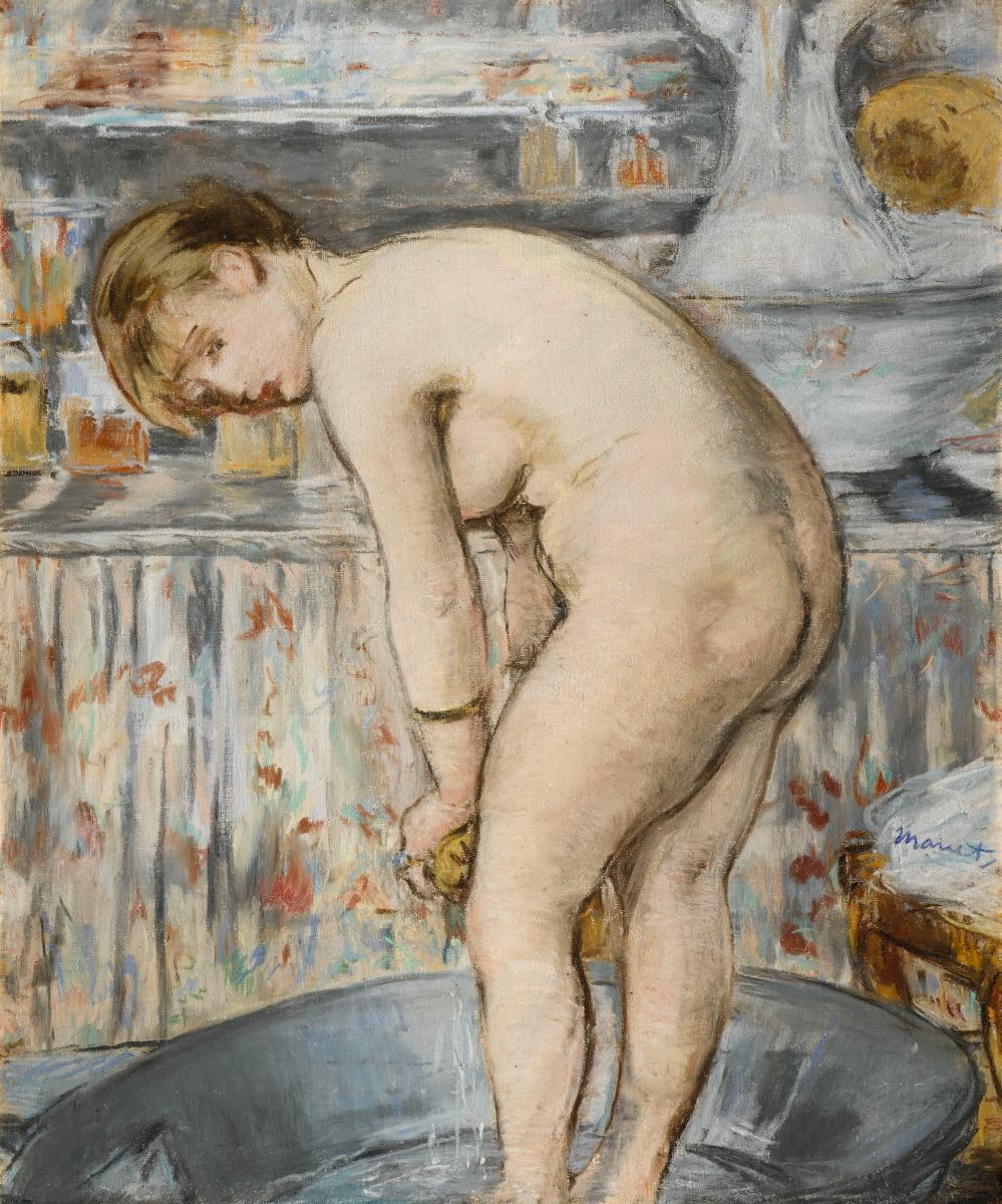 Картинки по запросу manet femme au tub