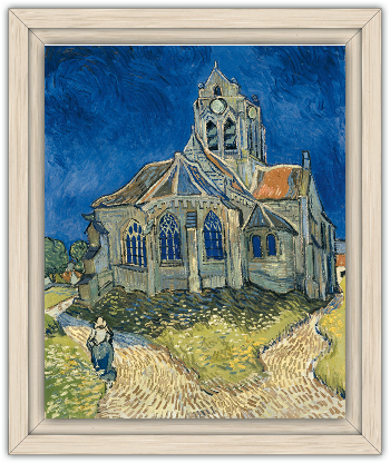 Van Gogh Doctor Who Church