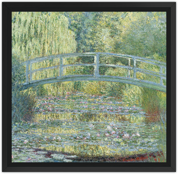 Museoteca le bassin aux nymph as harmonie verte monet for Toile a bassin