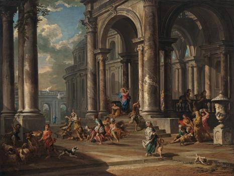 museoteca galerie de vues de la rome moderne pannini paolo
